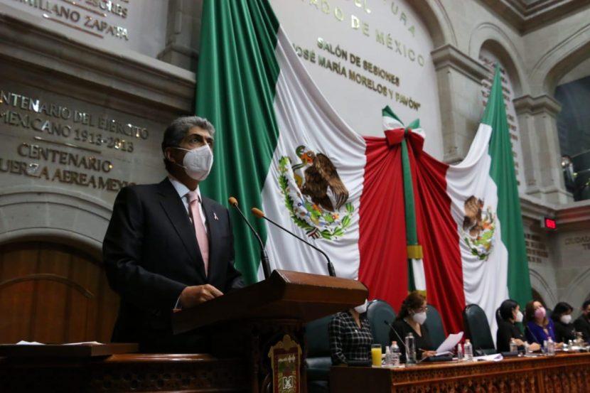 SE HA FORTALECIDO EL CLIMA DE GOBERNABILIDAD EN EDOMÉX: ERNESTO NEMER