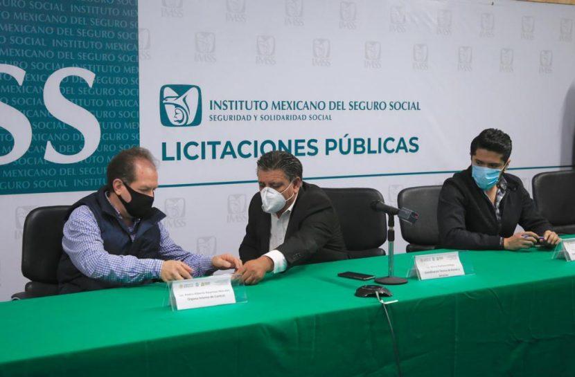 FORTALECE TRANSPARENCIA LICITACIÓN EN VIVO EN EL IMSS