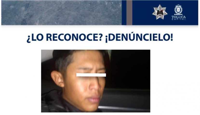 DETIENE TOLUCA A PRESUNTO FEMINICIDA DE GABRIELA QUIRÓZ