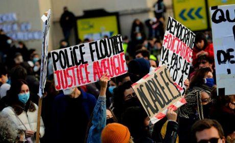 CRECEN LAS PROTESTAS EN FRANCIA POR LEY DE SEGURIDAD