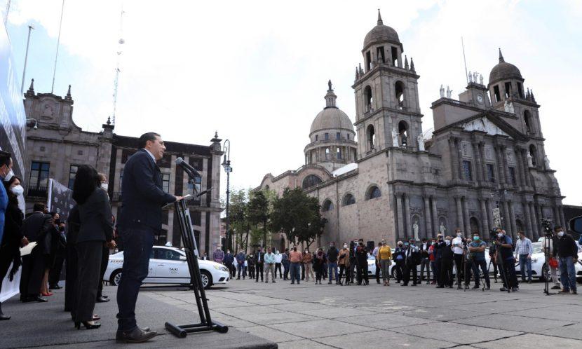 JUAN RODOLFO PONE EN MARCHA «TAXI CAPITAL, MOVILIDAD SEGURA»
