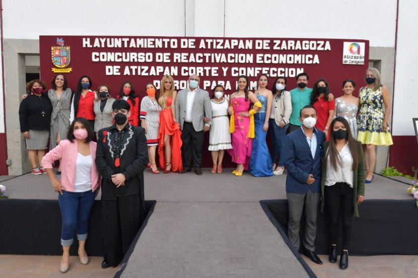 IMPULSA ATIZAPÁN LABOR Y CREATIVIDAD DEL SECTOR TEXTIL DEL MUNICIPIO