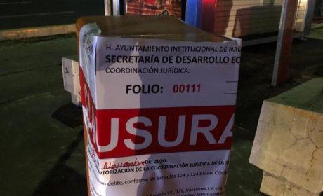 CLAUSURA NAUCALPAN ESTACIONAMIENTOS POR INCUMPLIR TIEMPO DE TOLERANCIA