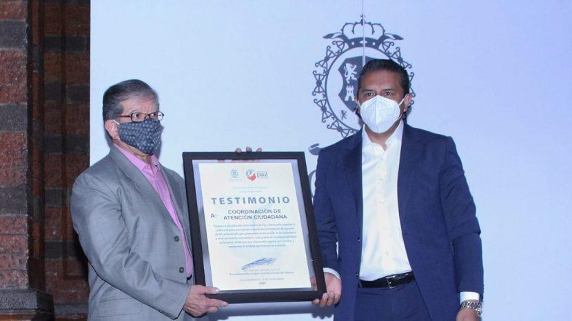 CONSTITUYEN ATENCIÓN CIUDADANA DE TOLUCA EN CENTRO DE PAZ
