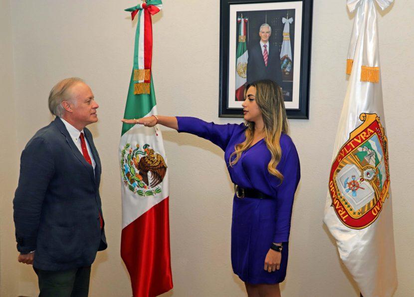 TOMA PROTESTA DE LEY DIRECTORA GENERAL DE PROGRAMAS  SOCIALES ESTRATÉGICOS DE SEDESEM