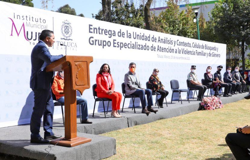 ES REAL EN TOLUCA EL COMPROMISO DE ERRADICAR VIOLENCIA CONTRA MUJERES: JRSG