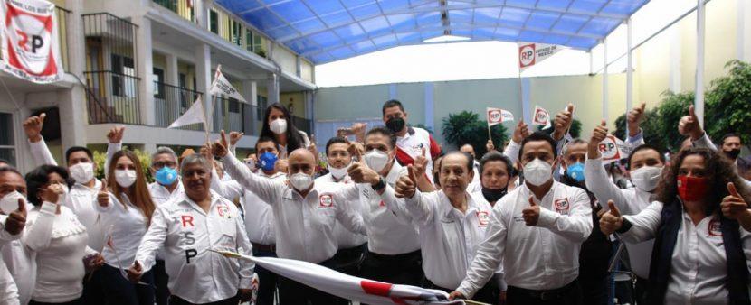 NOMBRA REDES SOCIALES PROGRESISTAS 21 COORDINADORES EN EDOMEX