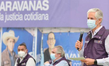 ENCABEZA GOBERNADOR JORNADA DE LAS CARAVANAS POR LA JUSTICIA COTIDIANA