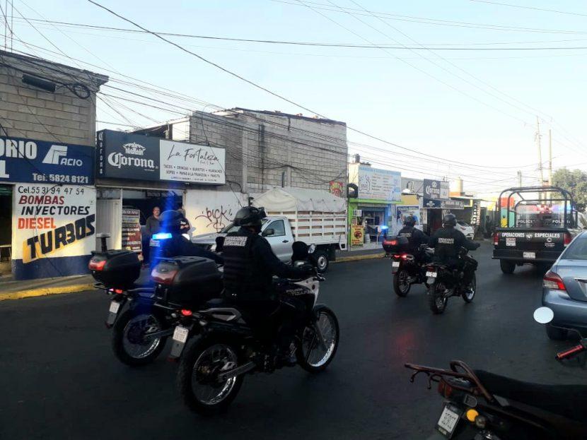 """POLICÍA DE ATIZAPÁN Y GUARDIA NACIONAL COORDINADOS PARA EL """"BUEN FIN 2020"""""""