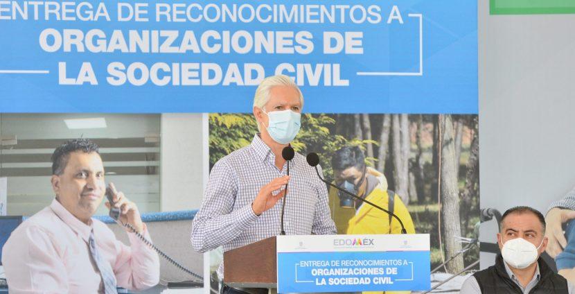 HACE EQUIPO ALFREDO DEL MAZO CON ORGANIZACIONES CIVILES