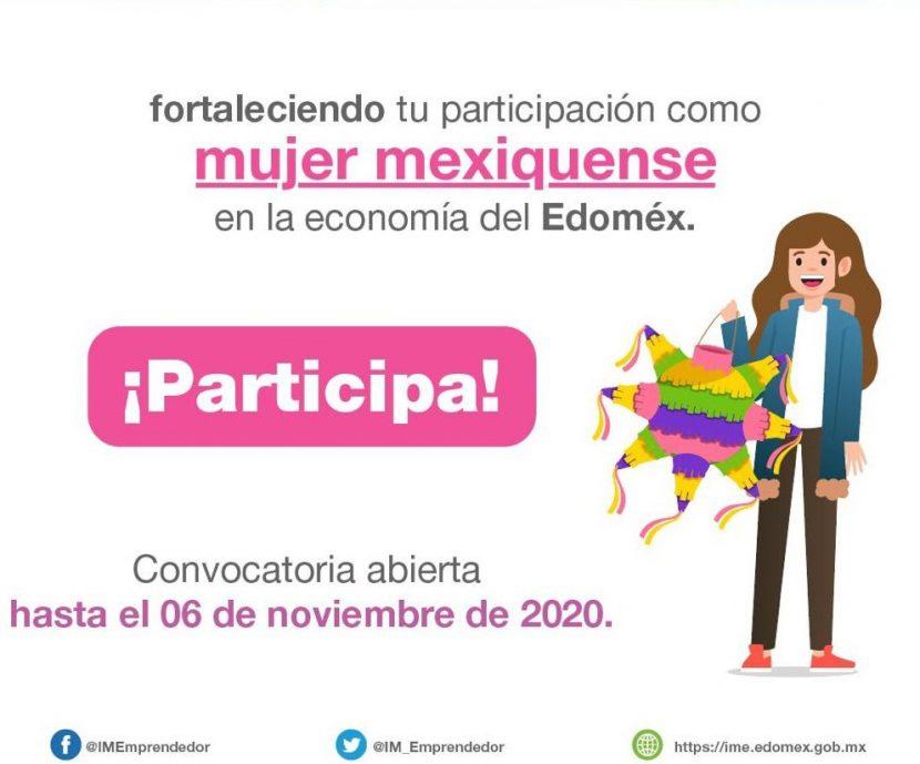 "CONVOCA GEM A EMPRENDEDORAS MEXIQUENSES A LA TERCERA EDICIÓN DEL FORO VIRTUAL ""MUJER EMPRENDEDORA 2020"""