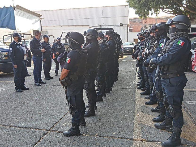 REFUERZAN NUEVOS ELEMENTOS A LA POLICÍA NAUCALPENSE