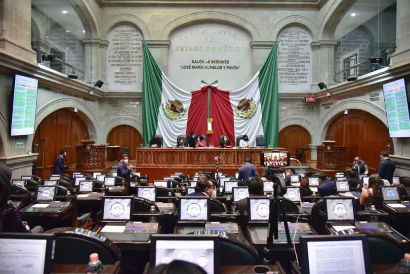 EXPIDE CONGRESO MEXIQUENSE LEY DE AMNISTÍA