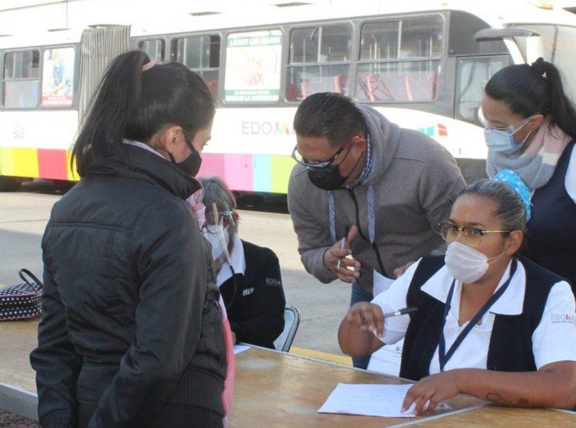 PRUEBAS RÁPIDAS DE DETECCIÓN DE CORONAVIRUS EN EL MEXIBÚS