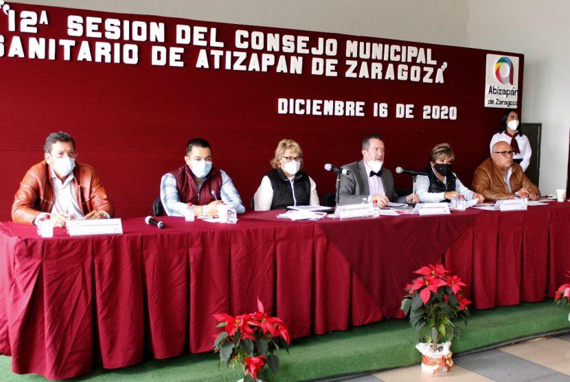 REFUERZAN MEDIDAS SANITARIAS EN TIANGUIS DE ATIZAPÁN DE ZARAGOZA