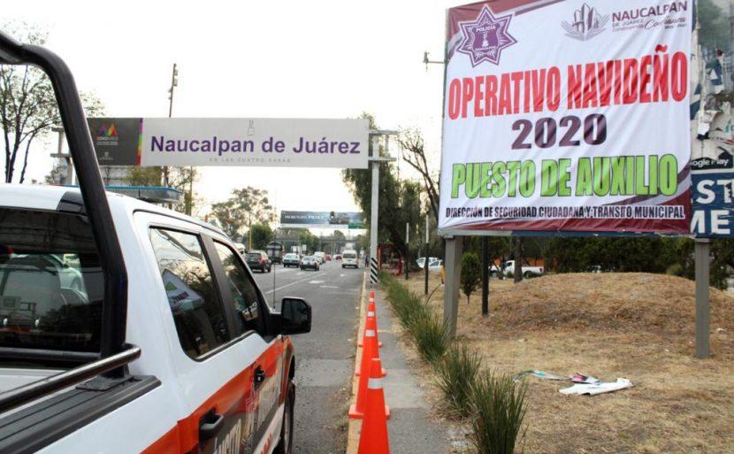 REPORTA NAUCALPAN SALDO BLANCO EN NAVIDAD