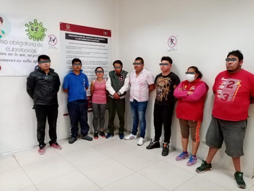 DETIENE POLICÍA DE NAUCALPAN A BANDA DEDICADA AL ROBO DE MERCANCÍA
