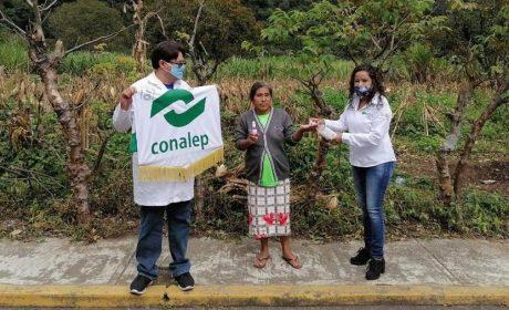 LLEVA CONALEP BENEFICIOS A MÁS DE 250 MIL PERSONAS