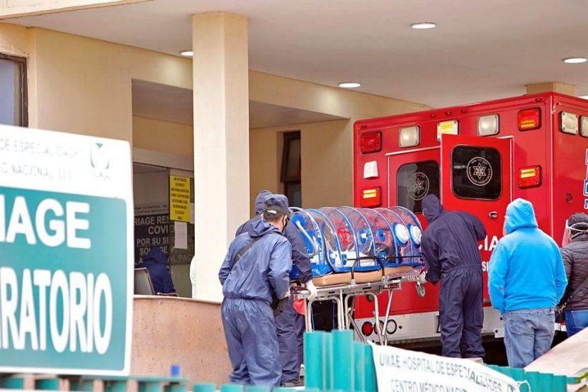 PEREGRINAN ANTE SATURACIÓN EN HOSPITALES EN EL VALLE DE MÉXICO
