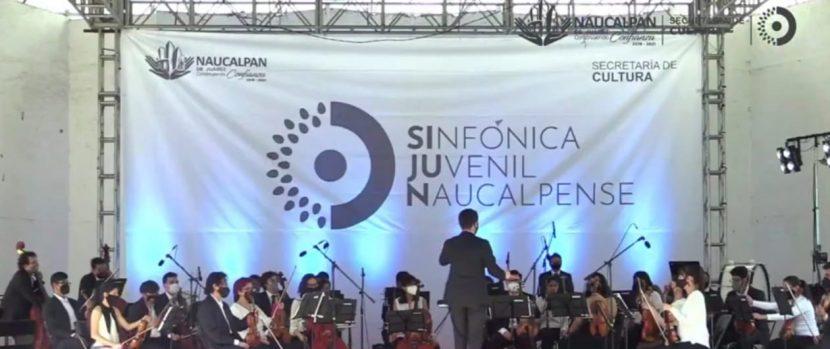 CONCLUYE SINFÓNICA JUVENIL NAUCALPENSE  SU SEGUNDA TEMPORADA
