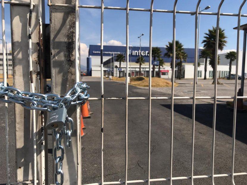SE MANIFIESTAN EN TOLUCA TRABAJADORES DE INTERJET