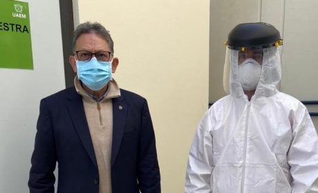 UAEM REALIZARÁ PRUEBAS PCR A FINES DE ENERO: ALFREDO BARRERA