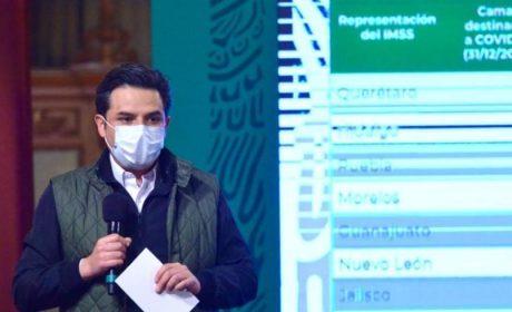REALIZA EL IMSS RECONVERSIÓN HOSPITALARIA EN OCHO ENTIDADES