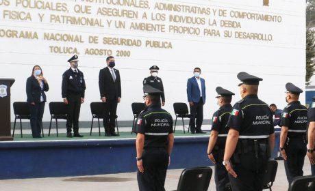 HONESTIDAD, SERVICIO Y EFICACIA EN LA NUEVA ERA DE LA POLICÍA DE TOLUCA