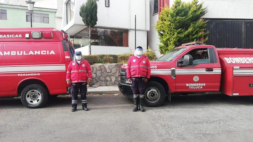 PROTECCIÓN CIVIL DE TOLUCA REALIZA 295 TRASLADOS POR COVID-19