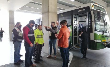 EN MEXIPUERTO CUATRO CAMINOS, DISPOSITIVO EMERGENTE DE SEGURIDAD