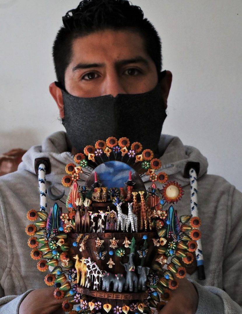 """RECIBE MARTÍN DÍAZ MANJARREZ GALARDÓN """"TONALTECA"""" POR """"CATRINAS MEXICANAS"""""""