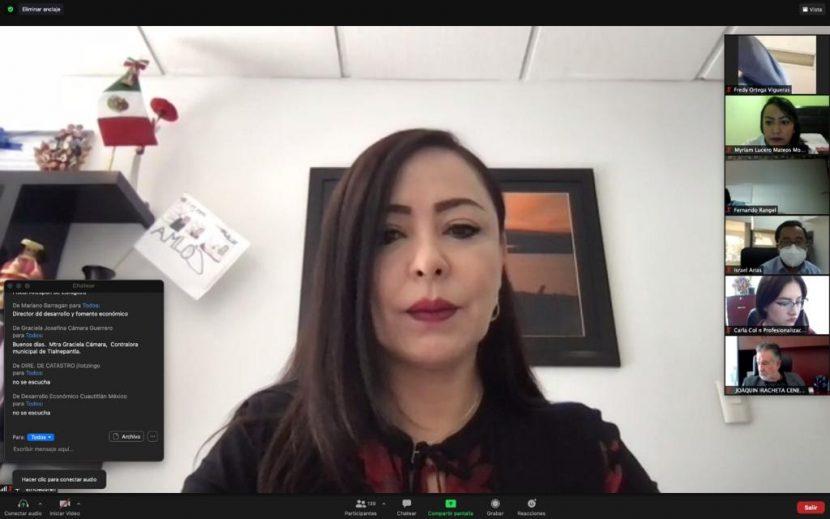 NAUCALPAN, BUENAS PRÁCTICAS ADMINISTRATIVAS: PATRICIA DURÁN