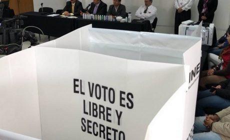 CONTROLAR MATERIAL ELECTORAL DARÁ CERTEZA A CIUDADANÍA: IEEM