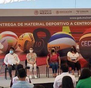 CONADE-CEDEM ENTREGA EQUIPO EN CHIAPAS