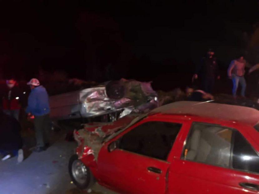 ACCIDENTE DEJA 4 MUERTOS EN TENANGO, ENTRE ELLOS UN BEBÉ