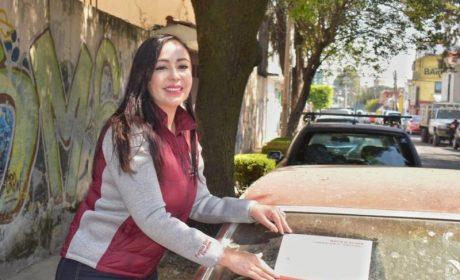 PATRICIA DURÁN DA PROGRAMA DE RETIRO DE AUTOS ABANDONADOS
