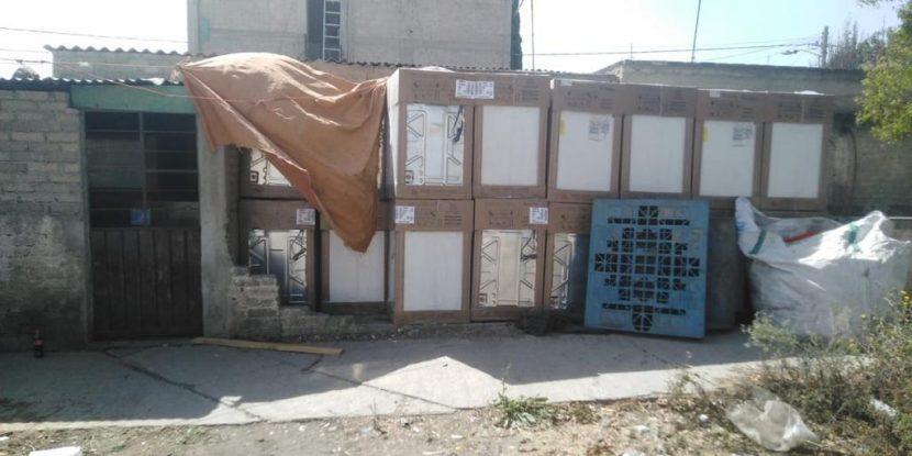 FGJEM RECUPERA EN CHALCO MERCANCÍA VALUADA EN 2.5 MDP