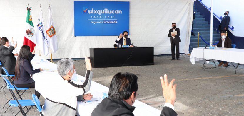 SE APRUEBA EL PRESUPUESTO 2021 PARA HUIXQUILUCAN