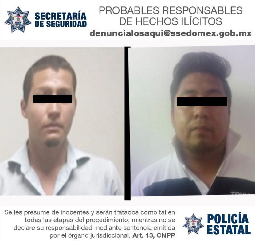 SSEM RECUPERA DOS AUTOMOTORES ROBADOS