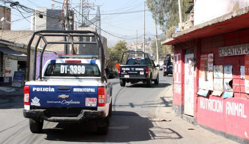 POLICÍA DE NAUCALPAN REALIZA OPERATIVO EN SAN RAFAEL CHAMAPA