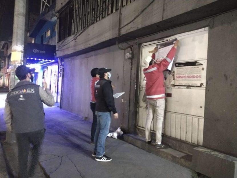 CLAUSURAN GIROS ROJOS EN VALLE DE TOLUCA