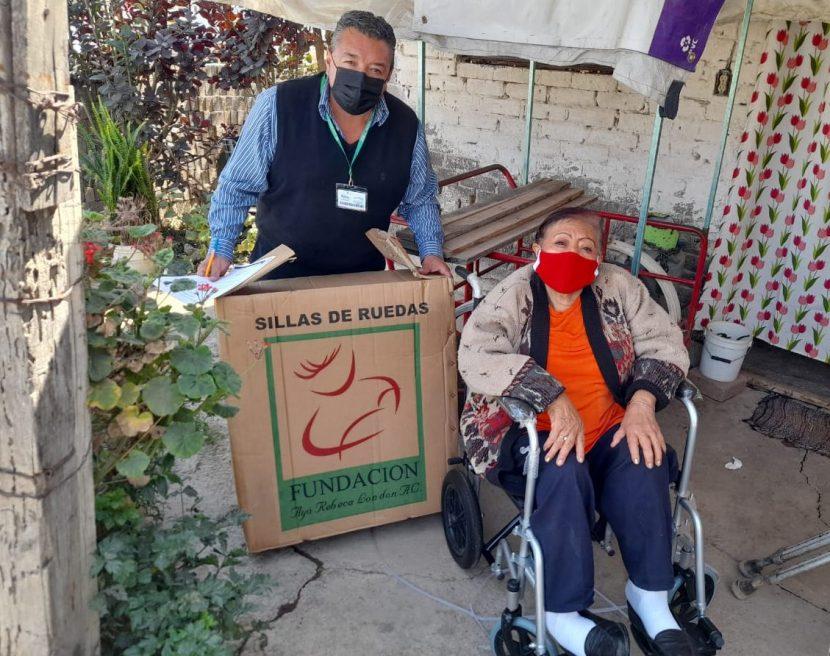 TRANSFORMA IFREM GRAPAS DE OFICINA EN SILLA DE RUEDAS
