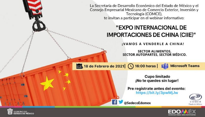 EMPRESAS MEXIQUENSES PARTICIPAN EN MERCADO CHINO
