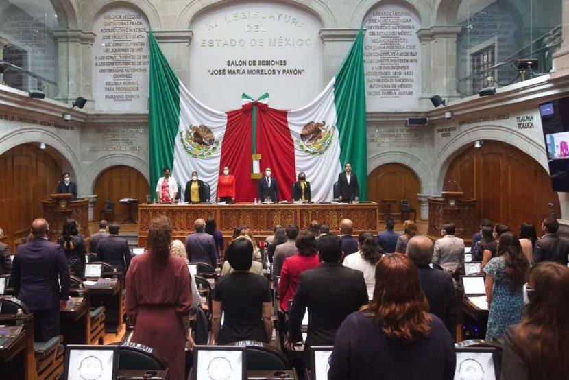 RECONOCE CONGRESO ESTATAL A MEDALLISTAS MEXIQUENSES