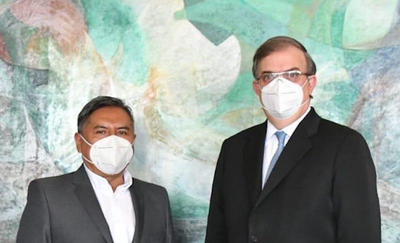 REUNIÓN ENTRE CANCILLERES DE MÉXICO Y BOLIVIA