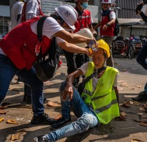 MUEREN 34 MANIFESTANTES EN MYANMAR