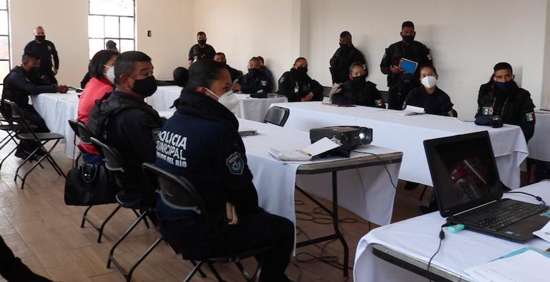 CAPACITA EDOMÉX A POLICÍAS MUNICIPALES
