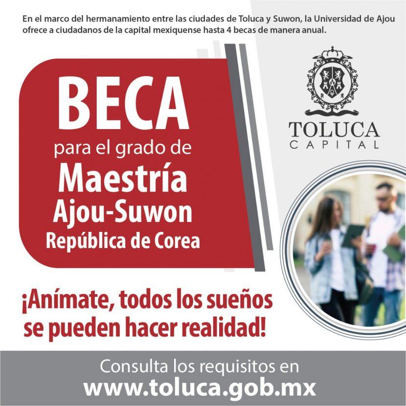 OFRECEN TOLUCA Y SUWON MAESTRÍAS EN LA UNIVERSIDAD DE AJOU