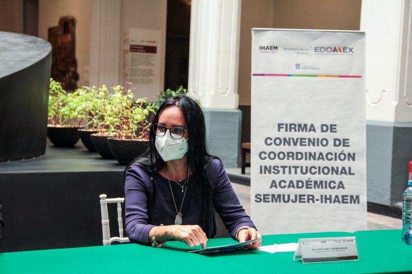 SEMUJER E IHAEM FIRMAN CONVENIO DE COLABORACIÓN