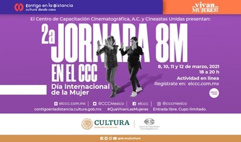 SEGUNDA JORNADA 8M EN EL CCC EN LÍNEA